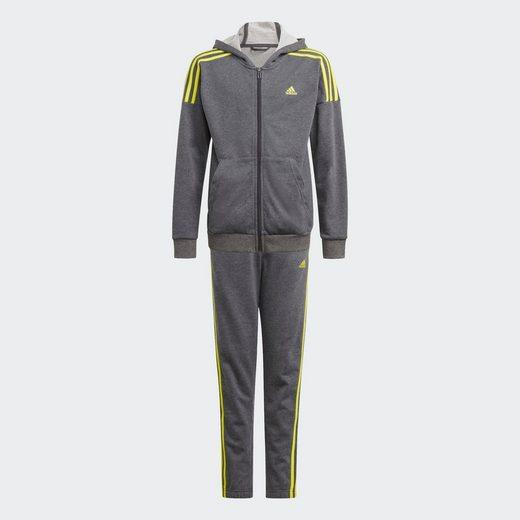 adidas Performance Trainingsanzug »JOUTH BOY COTTON TRACKSUIT« (Set, 2-tlg)