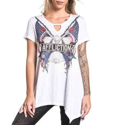 AFFLICTION T-Shirt mit coolem Frontprint
