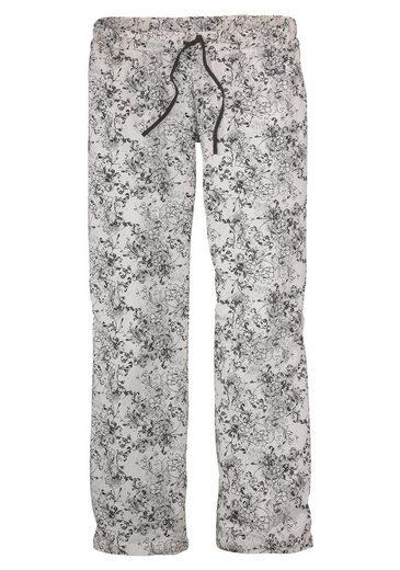 s.Oliver RED LABEL Bodywear Pyjama mit feinem Blumenmuster