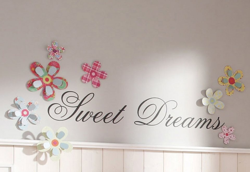 Wandspruch »Sweet Dreams«