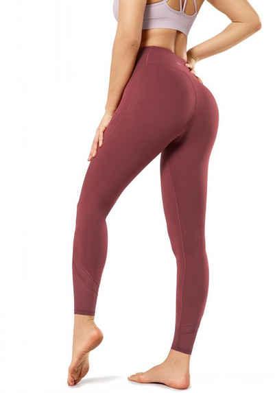 Yvette Leggings Hohe Taille,Blickdicht,Fitness Yoga Hosen,Streetwear