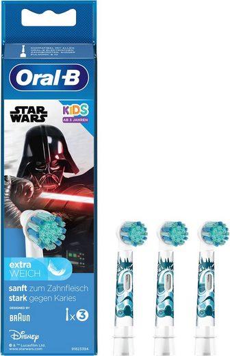 Oral B Aufsteckbürsten »StarWars«, für Kinder ab 3 Jahren