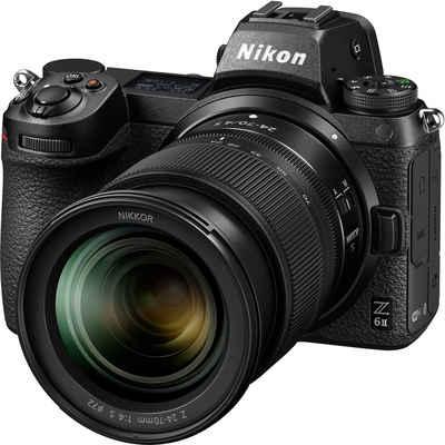 Nikon »Z 6II KIT 24-70 mm 1:4 S« Systemkamera (NIKKOR Z 24–70 mm 1:4 S, 24,5 MP, WLAN (Wi-Fi), Bluetooth)