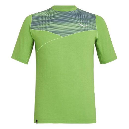 Salewa T-Shirt »T-Shirt Agner Hybrid Dry (Herren) - Salewa«