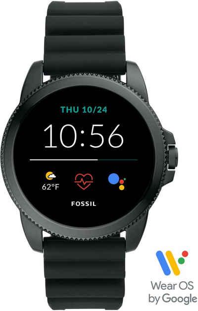 Fossil Smartwatches GEN 5E SMARTWATCH, FTW4047 Smartwatch (Wear OS by Google), mit individuell einstellbarem Zifferblatt