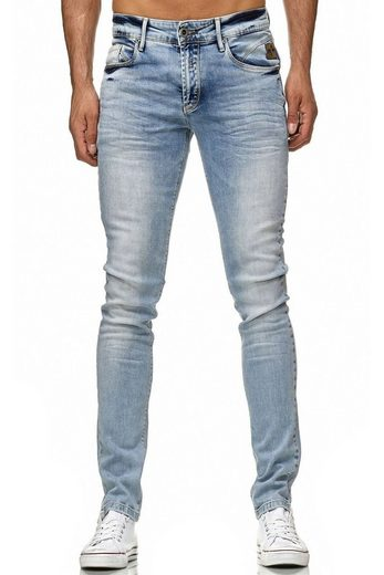Rusty Neal Jeanshose mit cooler Waschung