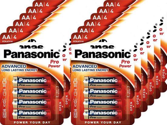 Panasonic »Batterie Alkaline, Mignon, AA, LR06, 1.5V, Pro Power, Retail Blister (48-Pack)« Batterie