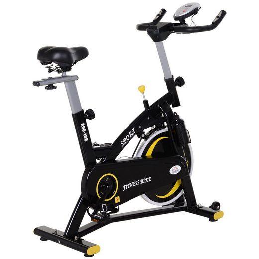 HOMCOM Heimtrainer »Fahrradtrainer mit stufenlosem Magnetwiderstand«