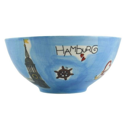 Mila Müslischale »Mila Keramik-Schale Hamburg«, Keramik, (Stück)