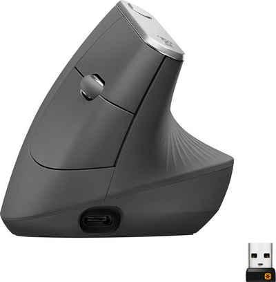 Logitech »MX Vertical« ergonomische Maus (Bluetooth)