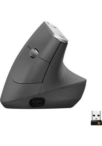 Logitech »MX Vertical« ergonomische Maus (Bluet...