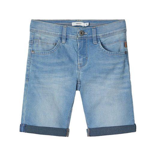 Name It Jeansshorts »Jeansshorts NKMSOFUS für Jungen, Organic Cotton«
