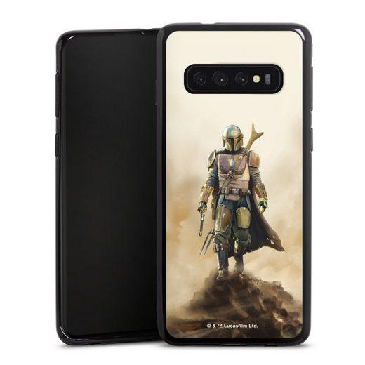 DeinDesign Handyhülle »The Mandalorian Rock« Samsung Galaxy S10, Hülle The Mandalorian Star Wars Offizielles Lizenzprodukt