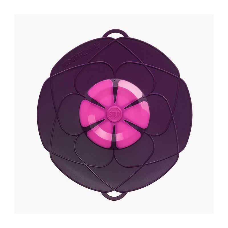 Kochblume Überkochschutz »L (für Töpfe von Ø14 bis 24 cm)«, Multifunktional