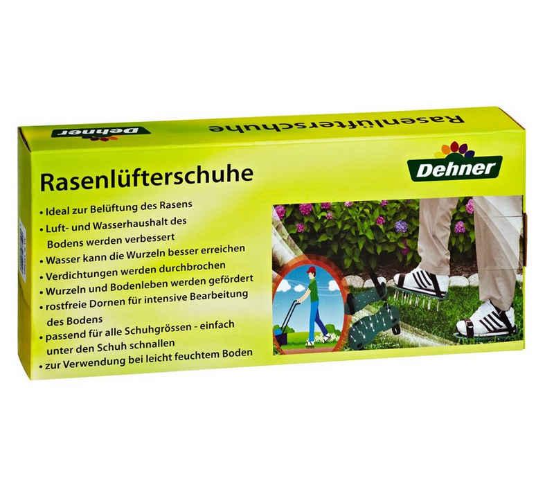 Dehner Gartenpflege-Set »Rasenlüfterschuh Sunny, ca. 32 x 15 x 5 cm, grün«