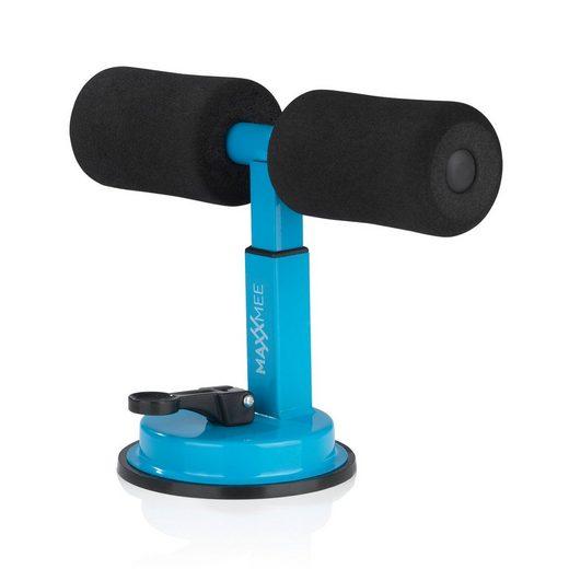 MAXXMEE Bauchmuskelmaschine, Sit-Up Assistent schwarz/blau