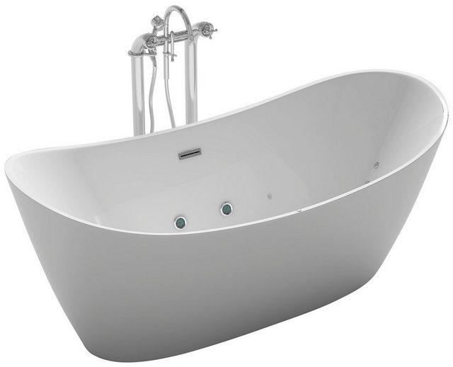 Badewannen und Whirlpools - HOME DELUXE Whirlpool »Ovalo Plus«, 180 x 90 x 72 cm, freistehend  - Onlineshop OTTO