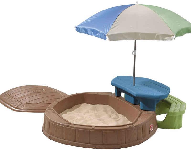 Step2 Sandkasten »Summertime«, BxLxH: 145x178x169 cm