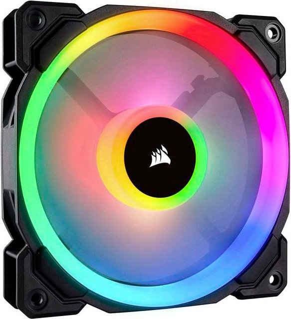 Corsair Gehäuselüfter »LL120 RGB LED Fan Triple Pack with Lighting Node PRO«