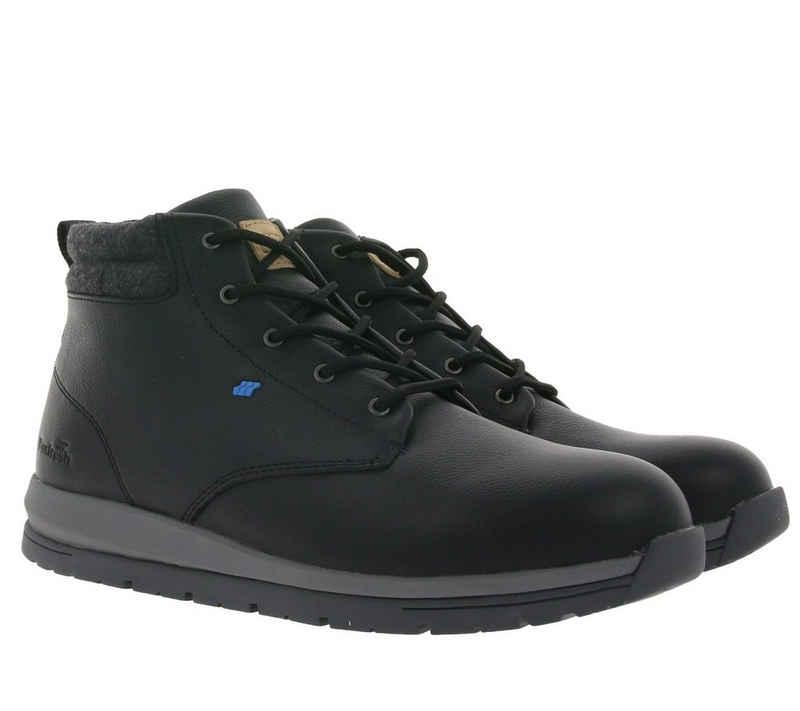 Boxfresh »Boxfresh Browndale Herbst-Boots leicht gefütterte Stiefel für Herren mit Echtleder-Anteil Winter-Stiefel Schwarz« Stiefel