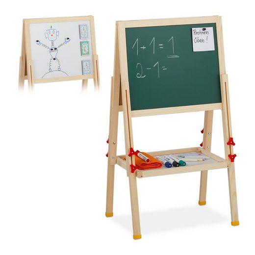 relaxdays Standtafel »Standtafel für Kinder höhenverstellbar«