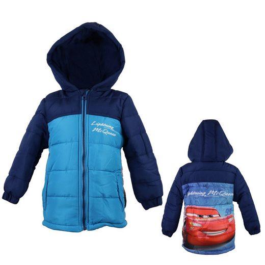 Disney Cars 3 Winterjacke »Lightning McQueen Kinder Jacke« in Blau, Gr. 98 bis 128