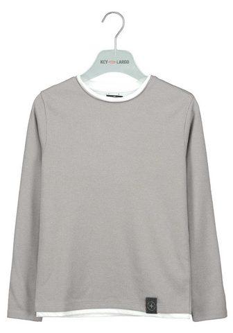 Key Largo Sportinio stiliaus megztinis su rundem...