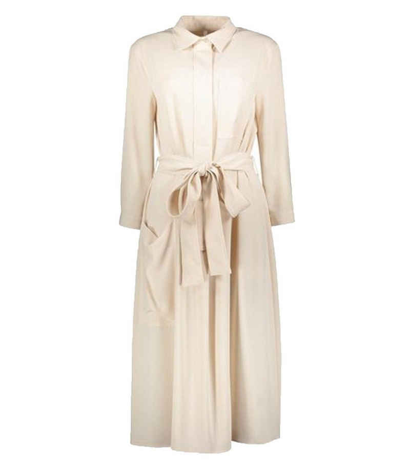IMPERIAL Hemdbluse »IMP by IMPERIAL Kleid modisches Damen Hemdblusen-Kleid mit 3/4 Arm Kleid Business-Kleid Beige«
