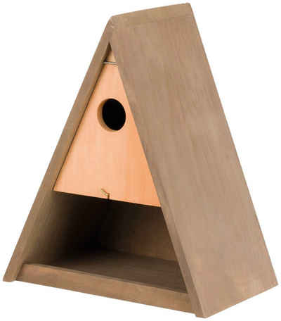 TRIXIE Nistkasten-Bausatz Nistplatz Vogelhaus Nisthöhle Vogelhaus aus Holz Vogel