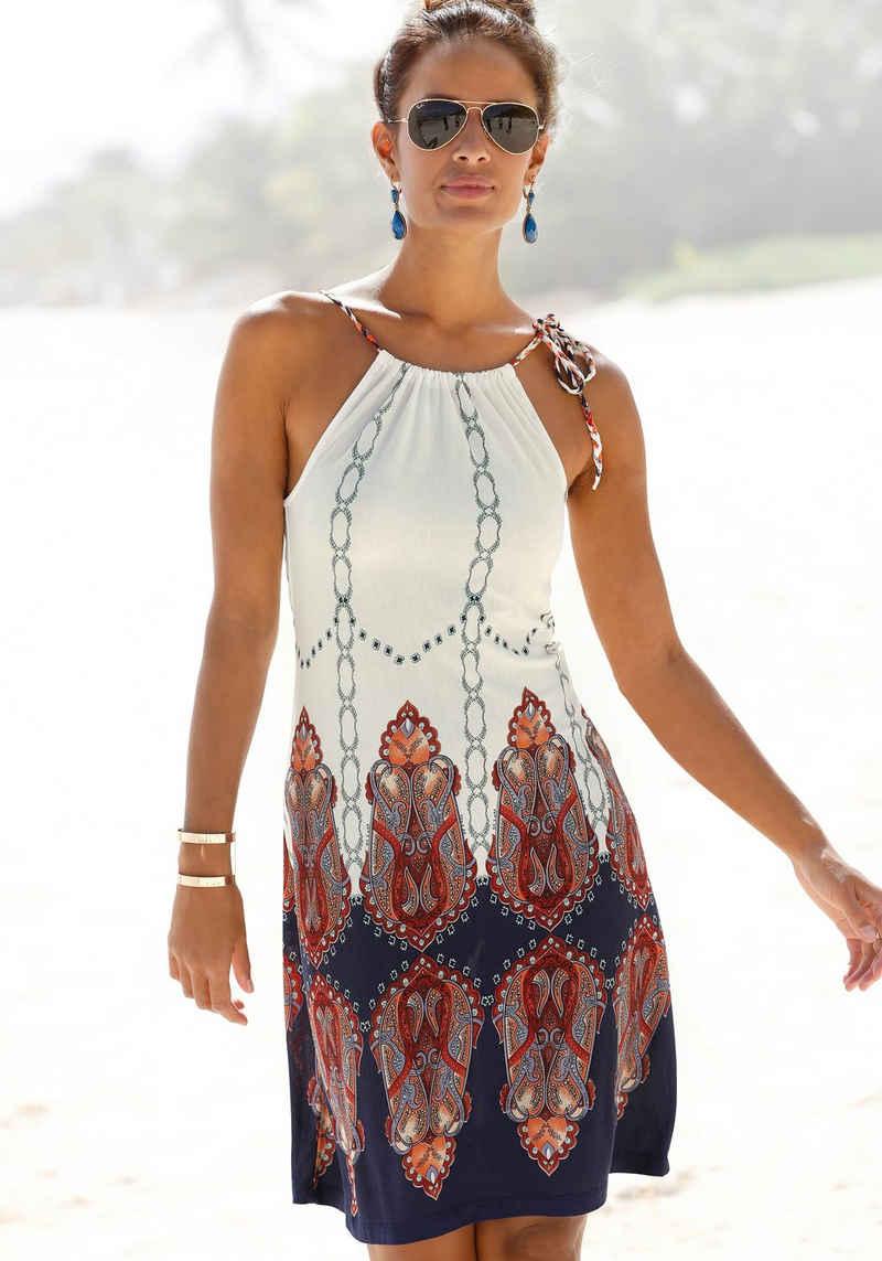 Beachtime Strandkleid mit geflochtenen Trägern