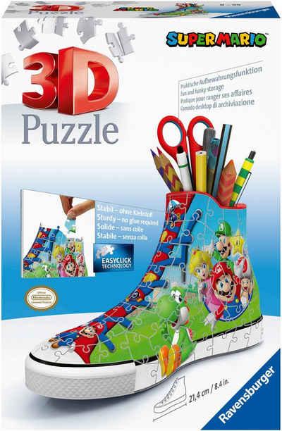 Ravensburger 3D-Puzzle »Sneaker Super Mario«, 108 Puzzleteile, FSC® - schützt Wald - weltweit; Made in Europe