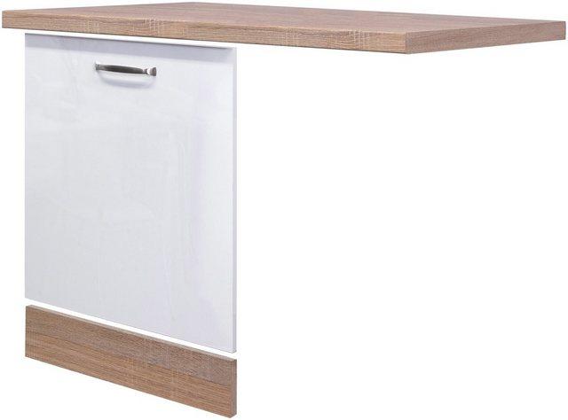 Flex-Well Exclusiv Geschirrspüler-Paket vollintegriert Valero Weiß-Eiche