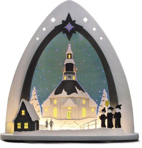 Weigla Lichterbogen »Seiffener Kirche«, in 3D Optik