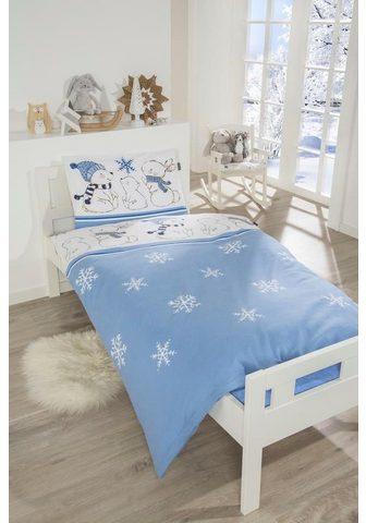 Schiesser Babybettwäsche »Baby Bearly« su Schnee...
