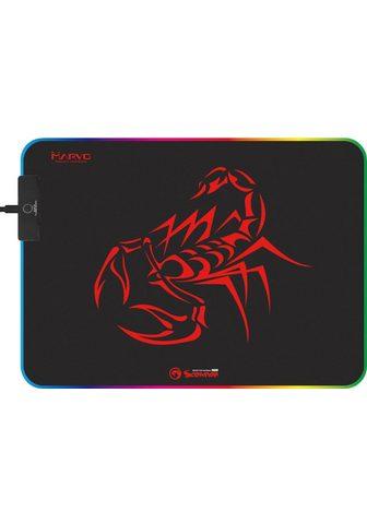MARVO Gaming Mauspad »MG08« 7-Farbiges RGB L...
