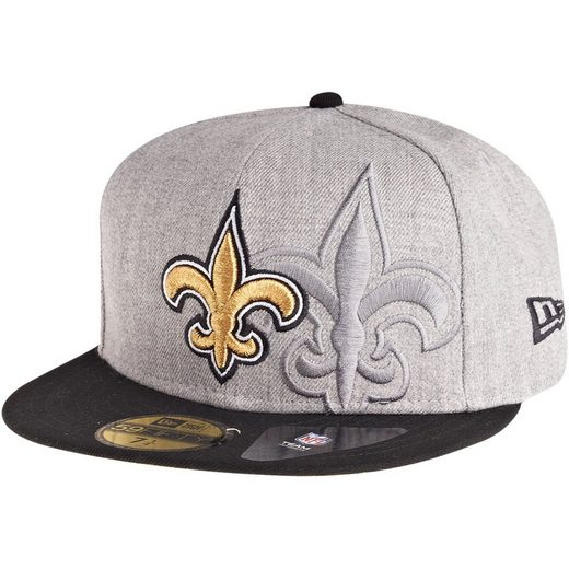 New Era Fitted Cap »59Fifty SCREENING NFL New Orleans Saints«