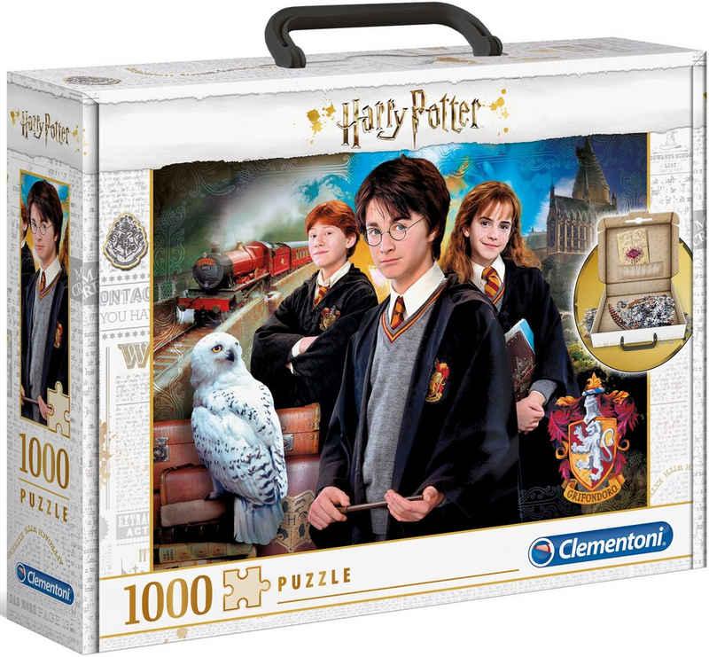 Clementoni® Puzzle »Harry Potter Brief Case«, 1000 Puzzleteile, im praktischen Koffer; Made in Europe, FSC® - schützt Wald - weltweit