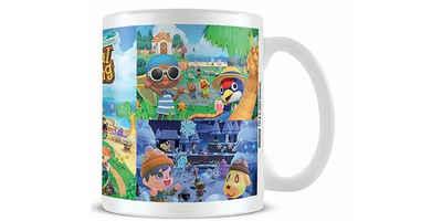 PYRAMID Tasse »Animal Crossing Tasse 4 Jahreszeiten«, Porzellan, Porzellan
