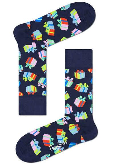 Happy Socks Socken mit bunten Geburtstags Motiven