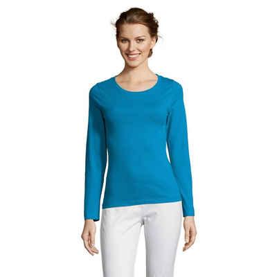 SOLS T-Shirt »Majestic Damen Longsleeve, Langarm«