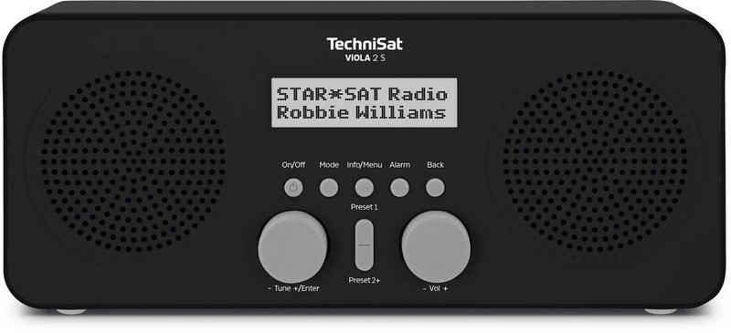 TechniSat »VIOLA 2 S« Digitalradio (DAB) (Digitalradio (DAB), UKW, 4 W, Weck- und Sleep-Funktion, Netz- und Batteriebetrieb)