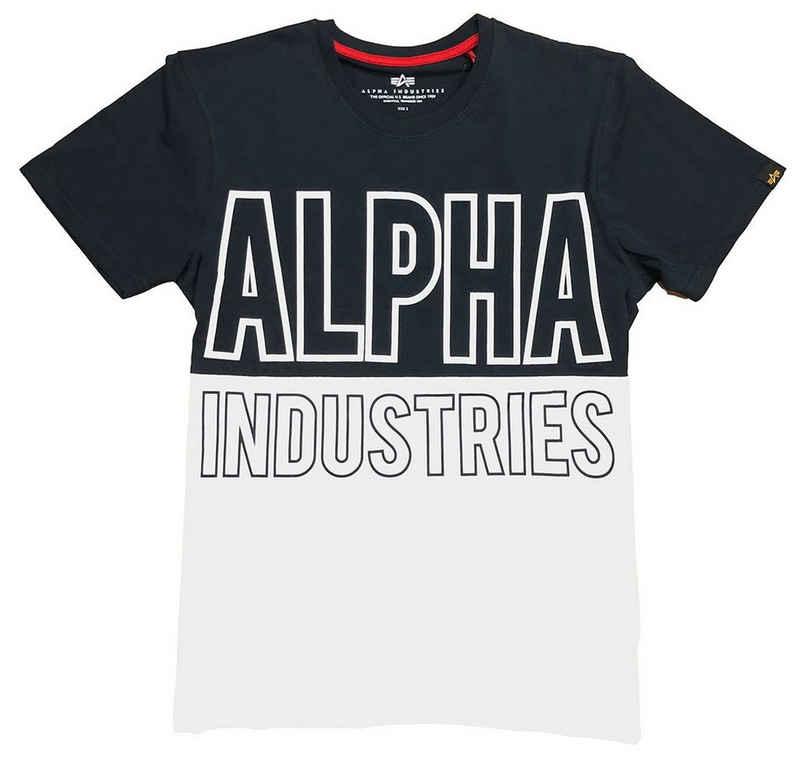 Alpha Industries T-Shirt »Block« (1-tlg)