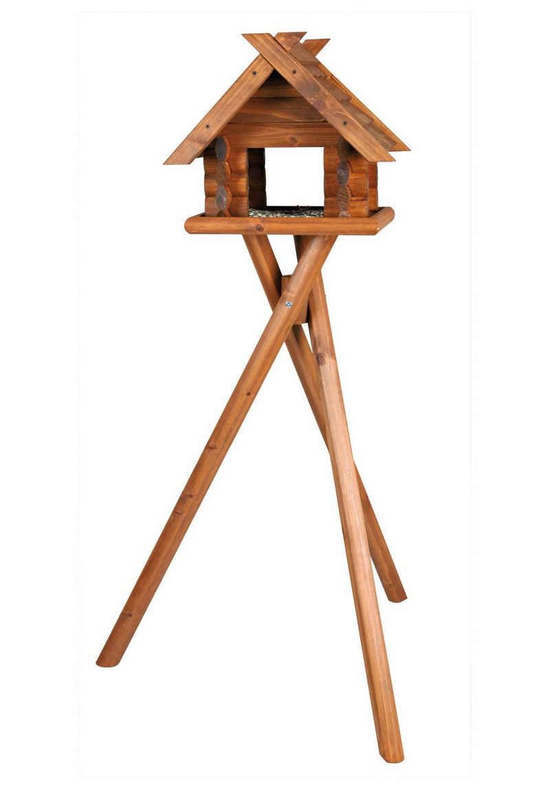 TRIXIE Vogelhaus »Blockbohlen«, BxTxH: 47x36x140 cm, mit Standbein