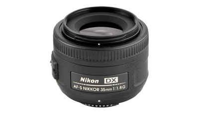 Nikon »AF-S Nikkor 35mm 1:1,8 G DX« Objektiv