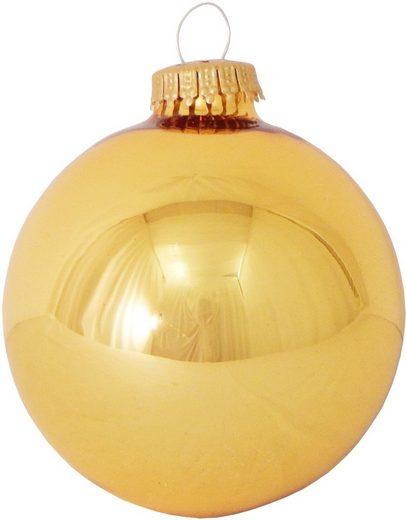 Krebs Glas Lauscha Weihnachtsbaumkugel »CBK90251« (8 Stück)