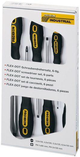 PROXXON Schraubendrehersatz »FLEX-DOT«, 6-tlg