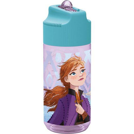 p:os Trinkflasche »Tritan-Trinkflasche mit Strohhalm Disney Die«