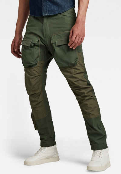 G-Star RAW Cargohose »3d Straight Tapered Cargo Vintage Ripstop Wild Rovic«