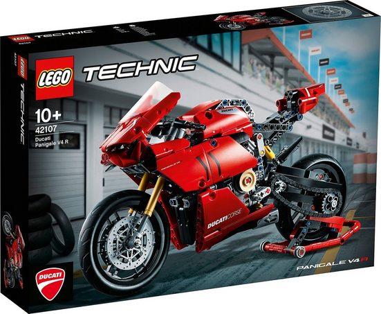 LEGO® Konstruktions-Spielset »LEGO® Technic 42107 Ducati Panigale V4 R«