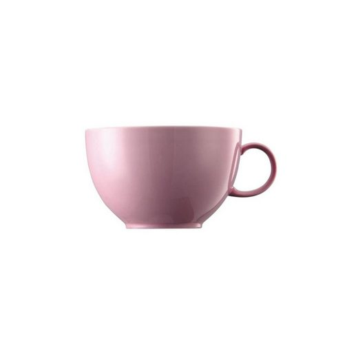 Thomas Porzellan Tasse »Sunny Day Light Pink Jumbo-Obertasse«, Porzellan